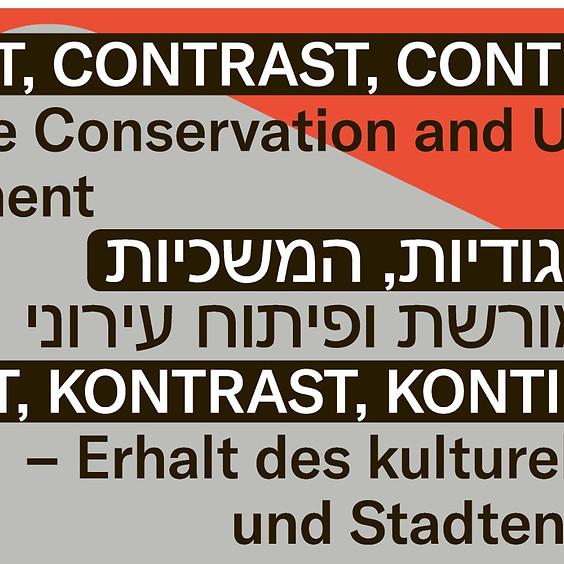 כנס איקומוס גרמניה ישראל: תפקידם של נשים אדריכלות מהמודרנה ועד היום