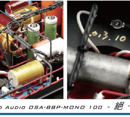 旗艦純後級MONO 100:管機藝術,再創巔峰