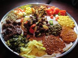 Ethiopian Combination Platter