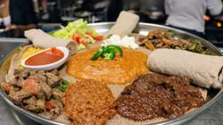 Meat and Vegetarian Platter