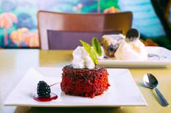 Red Velvet Upside Down Cake