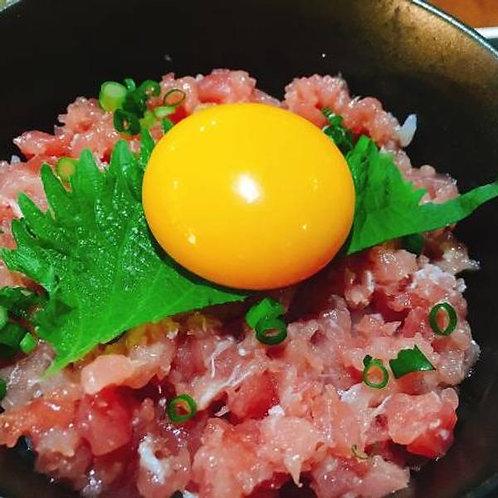 特選薩摩黒まぐろ切り落としセット(約450g)
