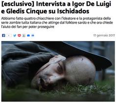 Intervista a Igor De Luigi e Gledis Cinque su Ischidados