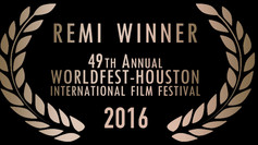 "Gold Remi Award @ WorldFest Houston for ""Luci Spente - Lights Out"""