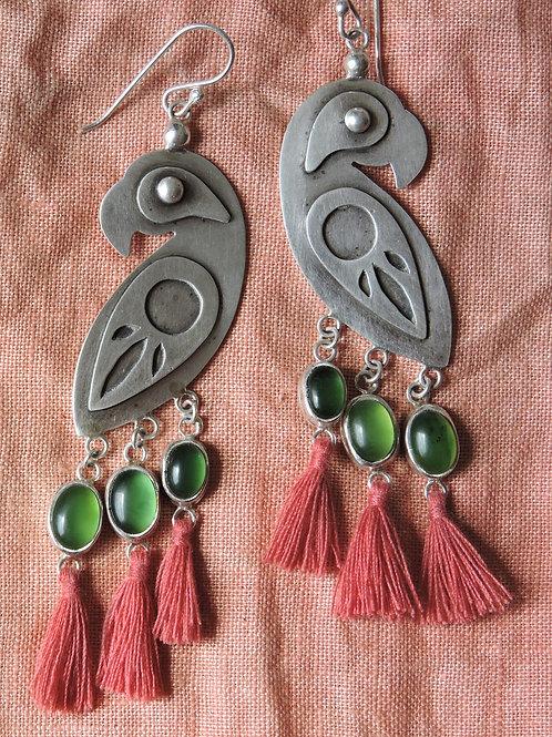 El Papagayo Earrings