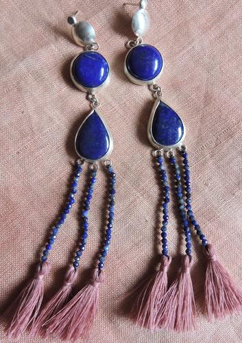 Lapis Lazuli Shoulder Dusters