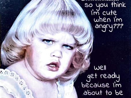 Hoe zie jij eruit als je boos wordt?