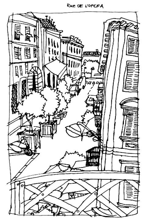 Rue de L'Opera