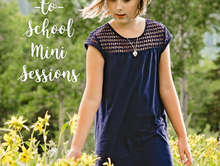 Back-to-School Mini Sessions