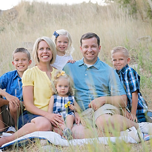 Family Mini Session Hobbs Pond