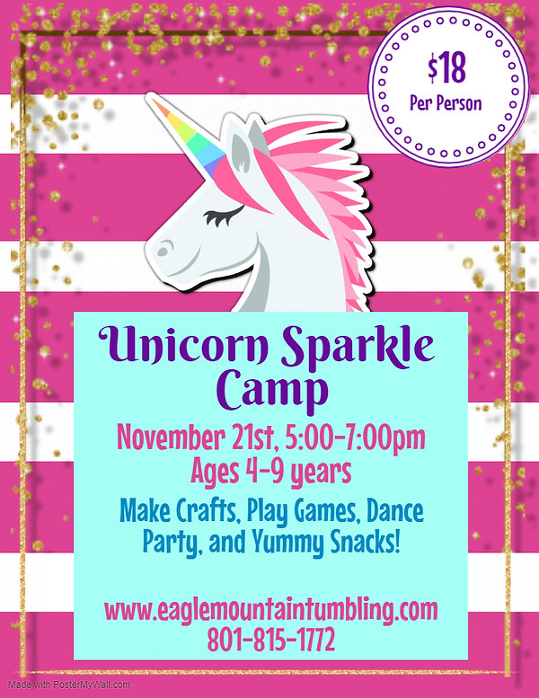 Copy of NG Unicorn Camp - Made with Post