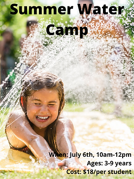 When_ July 6th, 10am-12pm Ages_ 3-9 year
