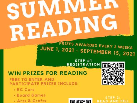 TMWG Summer Reading and Summer Feeding