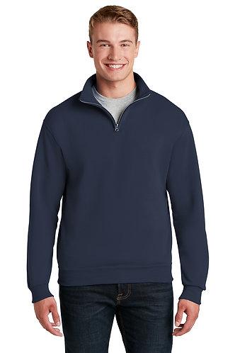 Overstock Navy 1/4 Zip Pullover