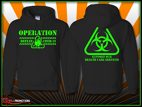 Operation Defeat COVID Hoodie