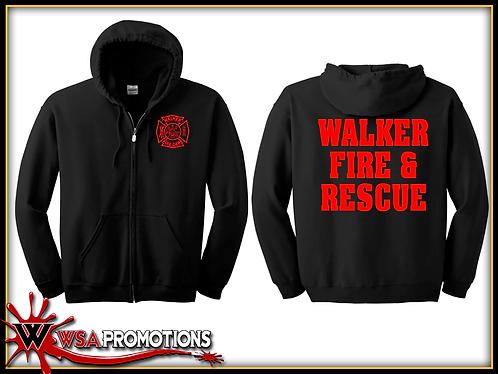 Walker Fire - WFR - Zip Hoodie