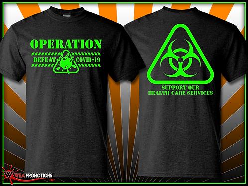Operation Defeat COVID Shirt