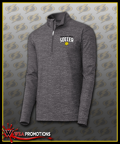 Sport-Tek ® Sport-Wick ® Stretch Reflective Heather 1/2-Zip Pullover