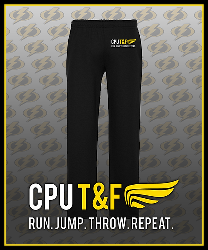 CPU Track Sweatpants - Embroidered