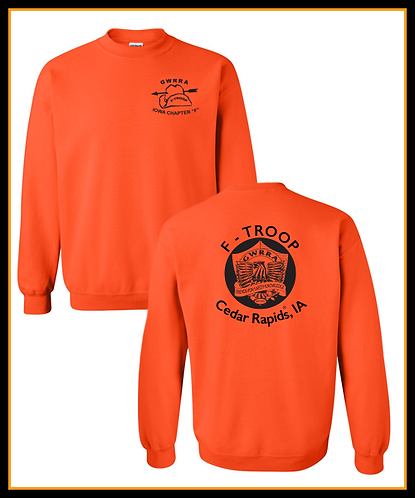 GWRRA F-Troop - Cotton - Crewneck sweatshirts