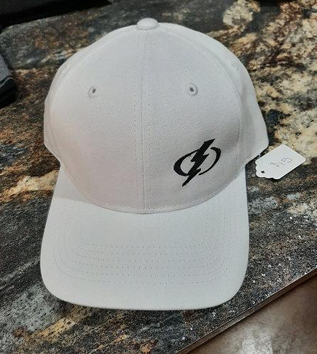 White Adjustable Baseball Cap