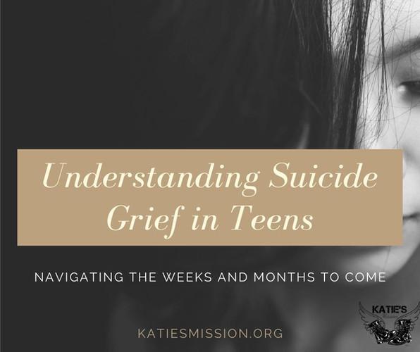 Understanding Suicide Grief in Teens