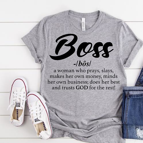 BOSS - Ladies T-shirt Size Sma