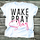 Thumbnail: WAKE PRAY SLAY- Ladies T-shirt Size Sma