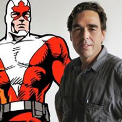 Richard and Captain Canuck