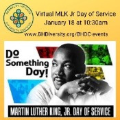 6th Annual MLK Jr Day of Service - Jan 18 (Virtual)