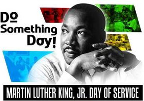Annual MLK Jr Day of Service - January 20, 2020.