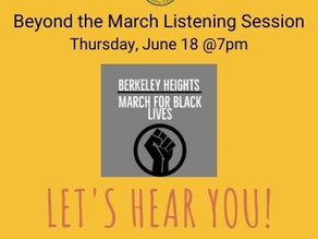 Beyond the March - A Community Listening Session