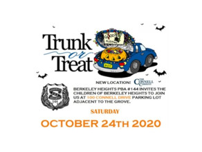 BHPD Annual Trunk or Treat - Oct 24, 2020