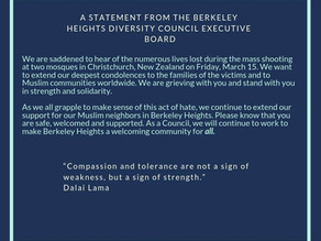 Statement from BHDC Executive Board, March, 2019