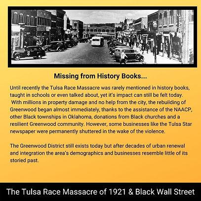 p2 Tulsa Race Massacre of 1921 & Black W