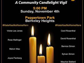 Berkeley Heights Responds to Hate #HateHasNoHomeHere