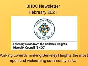 BHDC Newsletter - February 2021