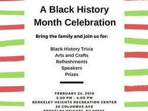 Special Event - Black History Month Celebration, February 24, 2019