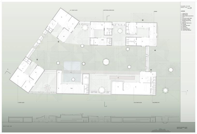Floor Plan   Section