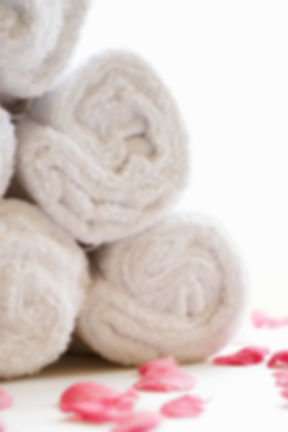 Rolled Spa Towels