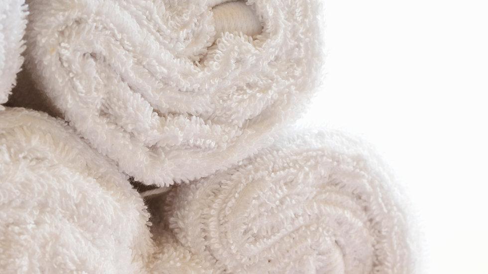Luxurious White Beach Towel