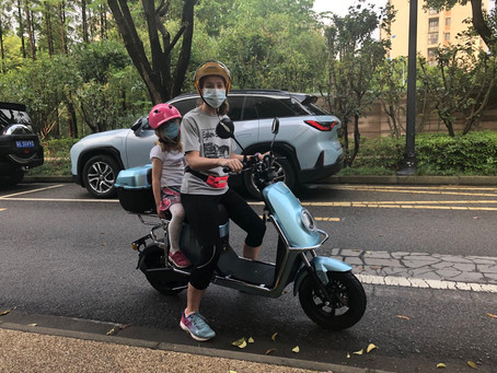Social distancing in Suzhou