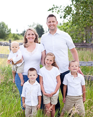 Dr. Davis and his family