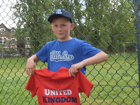 Blue Sox youngster aiming for third international baseball title