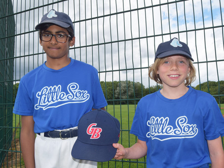 Blue Sox duo selected for Great Britain u12s