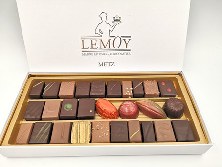 boutique-lemoy.fr • Pensez à commander vos chocolats pour Noël