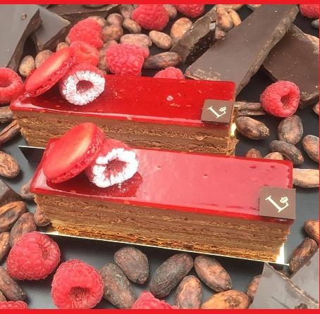 Le mariage du chocolat et de la Framboise