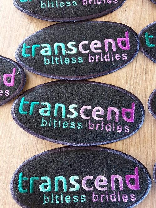 Embroidered transcend badge