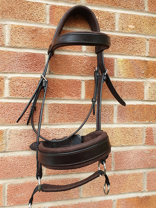 Double bridle, cob, havanna and chocolate SOLD