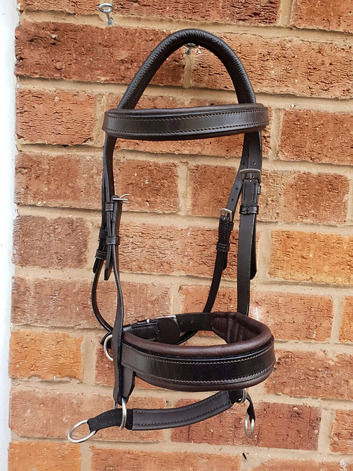 Iconic Double Bridle LEATHER